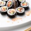 Traditional japanese sushi — Stock Photo #1760179