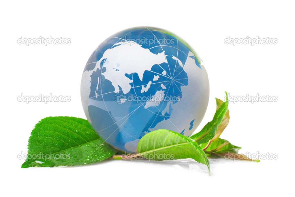 The globe concept eco — Stock Photo #1761565