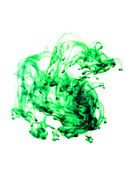 Green fluid — Stock Photo