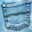 Blue jeans texture — Stock Photo #1671623
