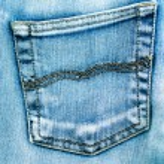 Blå jeans konsistens — Stockfoto