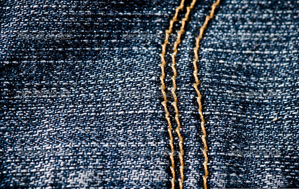 Blue jeans texture — Stock Photo #1671812