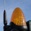 Stock Photo: Orange security lamp