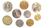 All of polish coins — Stock Photo