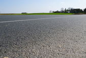 Closeup to asphalt — Stock Photo