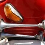 Firetruck klaxon — Stock Photo #2036405