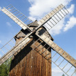 Old windmill and clouds — Stock Photo #2055579