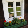 Stock Photo: Small traditional window