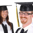Happy graduation a young man — Stock Photo #1668413