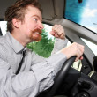 Mad driver — Stock Photo