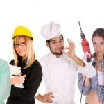Diversity workers — Stock Photo