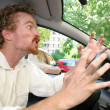 Angry driver — Stock Photo #1784236