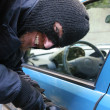 Car burglary — Stock Photo #1784470