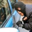 Stock Photo: Car burglary