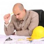 Businessman thinking — Stock Photo #1785307