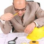 Businessman thinking — Stock Photo #1785366