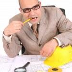 Businessman thinking — Stock Photo #1785389