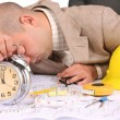 A businessman sleepy — Stock Photo #1785651