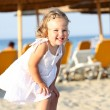 Little girl at beach — Stock Photo #1786216
