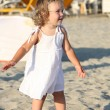 Stock Photo: Little girl at beach