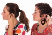 слуховой аппарат — Стоковое фото