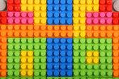Multi colored building blocks — Stock Photo