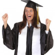 Happy graduation a young woman — Stock Photo #1910153