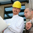 Architect and businessman — Stock Photo
