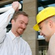 Angry architect and businessman — Stock Photo #2180107