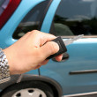 Handle electronic car key — Stock Photo #2182119