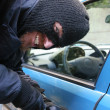 Car burglary — Stock Photo #2183383