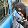 Car burglary — Stock Photo