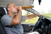 Guidatore ubriaco — Foto Stock