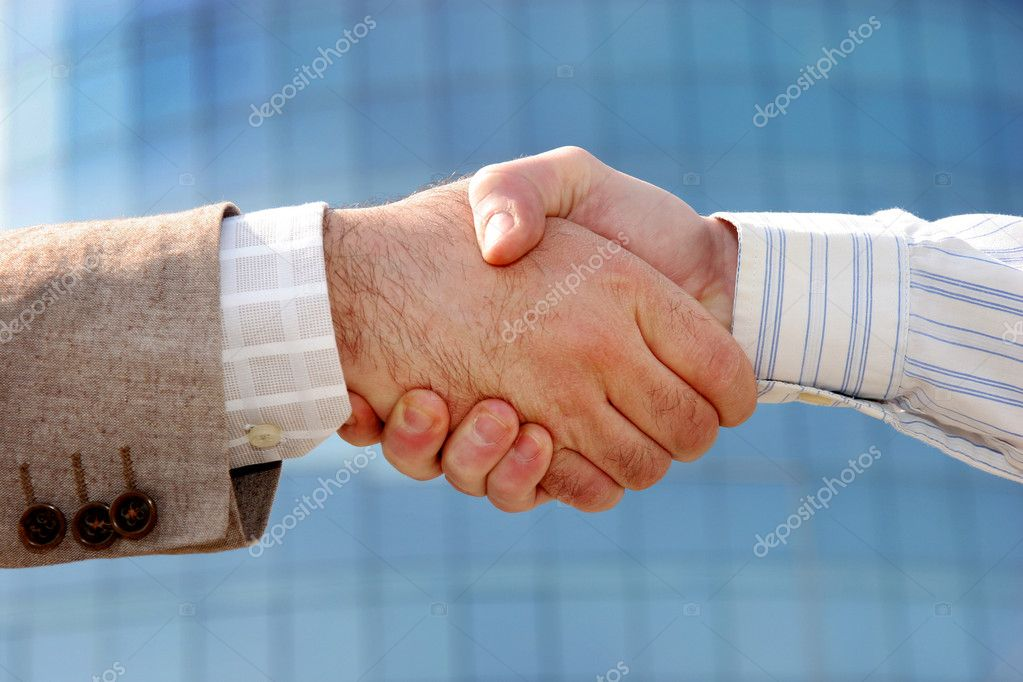 Details business handshake, partnership  Stock Photo #2180471
