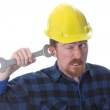 Double wrench on ear — Stock Photo #2273906