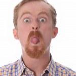 Man showing his tongue — Stock Photo #2274261