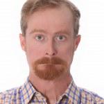 Portrait of funny man — Stock Photo
