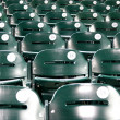 Stock Photo: Stadium baseball