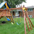 Childrens playground — Stockfoto