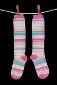 Striped socks — Stock Photo