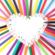 Color of love — Stock Photo