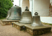 Novgorod Kremlin, the old bell — Stock Photo