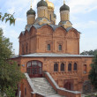 Moscow, Cathedral on Varvarka — Stock Photo