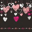 Royalty-Free Stock Vector Image: Love and heart