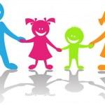 幸福的家庭 — 图库矢量图片