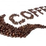 kaffee-text — Stockfoto