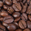 Stock Photo: Coffee beans close up
