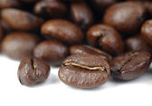 Coffe beans background — Stock Photo