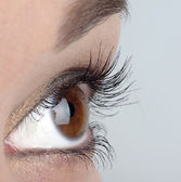 Kvinnors ögon — Stockfoto