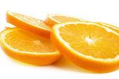 нарезанный оранжевый — Стоковое фото